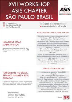 BRADO CONSULTORIA E SERVIÇOS LTDA.: EVENTO ASIS BRASIL 2015