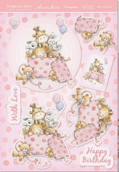 .3D baby card embelishments