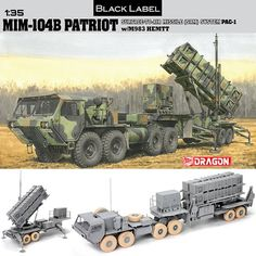 Dragon 1/35 Black Label MIM-104B Patriot Surface-to-Air Missile # 3558
