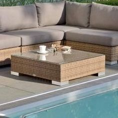 Stern Glasplatte für Fontana/Avola L Glas Outdoor Sectional, Sectional Sofa, Outdoor Furniture, Outdoor Decor, Fontana, Home Decor, Tables, Note, Products