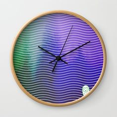 Buy #013 OWLY forest Wall Clock by owlychic. Worldwide shipping available at Society6.com. Just one of millions of high quality products available. #livingrooms #products #today #owlychic  #livingrooms #decors #building #product #clock #wall #wallclocks