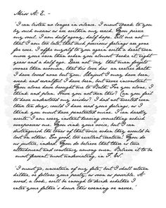 Captain Wentworth's Letter....romantic!