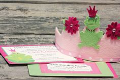 Frog Girly Girl Birthday Parties