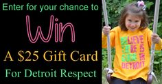 Metro Detroit Mommy: Detroit Respect Clothing - info and #giveaway {ends 7/11}