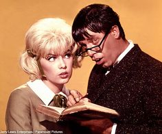"""Jerry Lewis and Stella Stevens - """"The Nutty Professor"""" Loved this movie Jerry Lewis, Musical Film, Film Movie, The Nutty Professor 1963, Stella Stevens, Movies Worth Watching, Dean Martin, Great Films, Love Movie"""