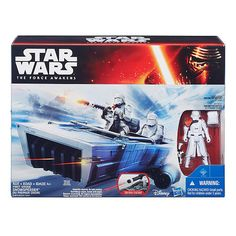 "Star Wars: Episode VII The Force Awakens 3.75-Inch Vehicle First Order Snowspeeder - Hasbro - Toys ""R"" Us"