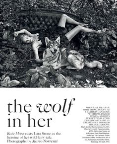 the wolf in her