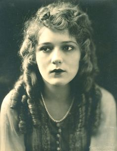 Mary Pickford; I wonder what her eyes hide...