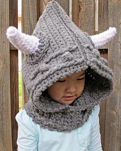 Viking Cowl Crochet Pattern