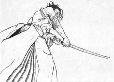 Ilustración de Sable Coreano me nació hacerlo mientras hacía otro proyecto • Haidong Gumdo Illustration made it while I was trying to clear my mind for other proyect...