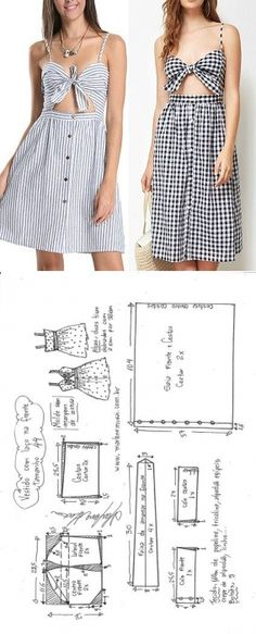 Amazing Sewing Patterns Clone Your Clothes Ideas. Enchanting Sewing Patterns Clone Your Clothes Ideas. Diy Clothing, Sewing Clothes, Barbie Clothes, Dress Sewing Patterns, Clothing Patterns, Fashion Sewing, Diy Fashion, Fashion Outfits, Fashion Tips