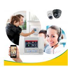 Monitoramento com Alarme, Sensores e Imagens