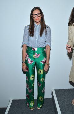 Jenna Lyons - J.Crew - Presentation - Spring 2013 Mercedes-Benz Fashion Week