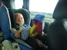 Long tajet voiture voyages et enfants