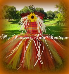 Scarecrow Tutu Costume by MyPrincessTutuBoutiq on Etsy, $85.00