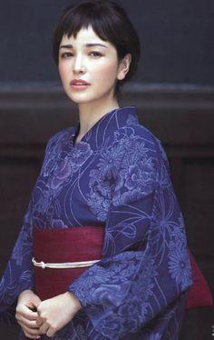 "thekimonogallery: "" Rinka in Kimono """