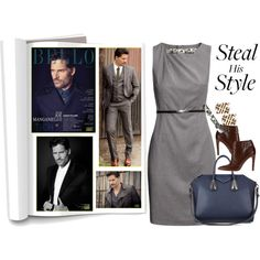 """Joe Manganiello: Steal His Style"" by jewelryrecipe on Polyvore  Contest ""Let's Hear it for the Boys"" January 15th, 2014"
