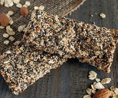 These Quinoa Chia Seed Protein Bars make the perfect healthy snack. This gluten free protein bar recipe will leave the whole family smiling.
