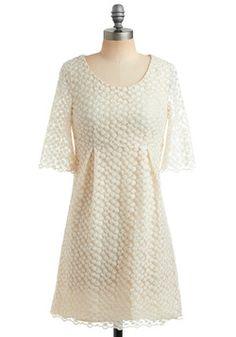 Modcloth Gazebo Glamour Wedding Dress