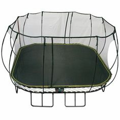 Trampoline | Springfree Trampoline | Backyard Trampoline | Springfree™ 11' x11' Square Trampoline with Safety Enclosure - American Sale