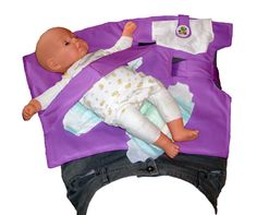 #1 Baby Shower Gift!  Violet Nifty Swifty Snap  Standing Diaper Changer by SwiftySnap, $39.95