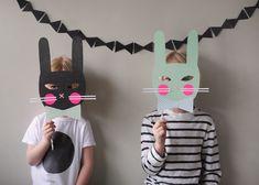 DIY Bunny Masks for La Petite Magazine