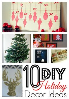 10 Holiday Ideas for the walls