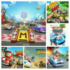 Sonic & All-Stars Racing Transformed El Chavo Kart Boom Karts Racing & Kakao Friends Racing XBOX360