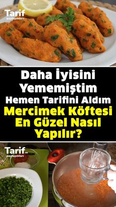 Armenian Recipes, Turkish Recipes, Mediterranean Recipes, Soup And Salad, Sweet Potato, Food Videos, Good Food, Food And Drink, Appetizers