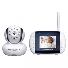 The MBP 33 Wireless Video Baby Monitor has a 2.8-inch color LCD screen with infrared night vision and lots of other great features.