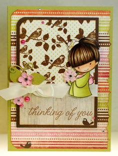 Another amazing card from A Thousand Sheets of Paper *** Sister Stamps images can be purchase at www.SisterStamps.com ***