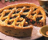 Tuscan Picnic Tart.  I would make this every day but it's not fair to the rest of the food!
