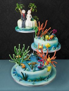Novelty design wedding cakes | Hockleys Cakes Northamptonshire