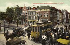Amsterdam, Old Pictures, Old Photos, The Hague, Netherlands, Holland, Dutch, Street View, History