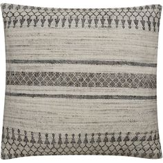 Peykan Pey-02 Ivory/Gray Pillow