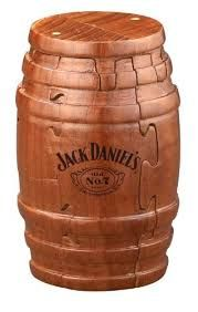 9839db470b Image result for dollhouse jack daniels Jack Daniel s Real Wooden Barrel  Puzzle ... amazon