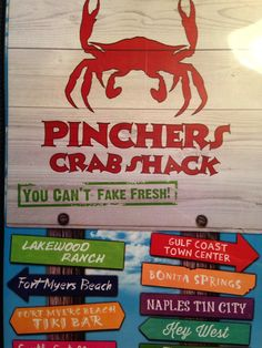 Pinchers Crab Shack in Cape Coral, FL-devoured fried oysters....oh my word and a few margaritas!