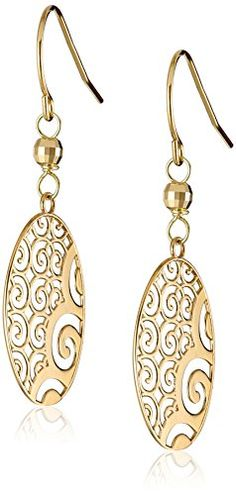The Yellow Gold Oval Ornament Earrings contain exquisite detailing that will make a glamorous statement against the ears. Hanging from each fishhook earring 18k Gold Earrings, Aquamarine Earrings, 14k Gold Jewelry, Black Earrings, Bridal Earrings, Beaded Earrings, Trendy Fashion Jewelry, Fashion Jewelry Necklaces, Fashion Earrings
