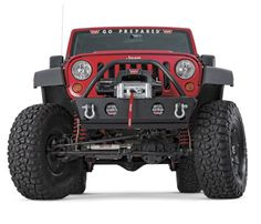 WARN Rock Crawler Stubby Front Bumper with Grille Guard for 07-13 Jeep® Wrangler  Wrangler Unlimited JK
