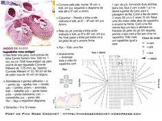 Croche pro Bebe: Sapatinho Crocs em croche
