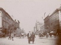 1895 táján Váci körút ( Bajcsy-Zsilinszky út), 6. és 5. kerület Tarot, Snow, Outdoor, Outdoors, Outdoor Living, Garden, Eyes, Tarot Decks, Tarot Cards