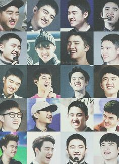 Kyungsoo's smile is the best❤