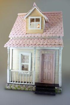 Jen Spectacular cottage dollhouse                                                                                                                                                     More