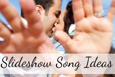 Ideas for wedding slideshow songs from different genres for every part of your slideshow