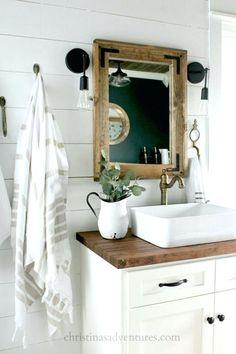 Image result for farmhouse bathroom sinks