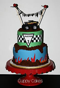 Monster Truck Cake | Flickr - Photo Sharing!
