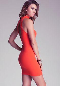 2ecb09bd2ae Bebe logo open back dress Rachel Moore PRODUCT PAGE = http://www.