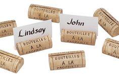 Cork Name Tags