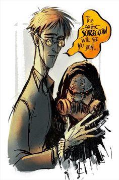 Dr. Jonathan Crane aka The Scarecrow