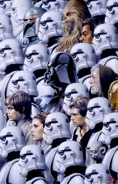 FAN ART: Brilliant Collection Of Original STAR WARS Artwork By Tsuneo Sanda